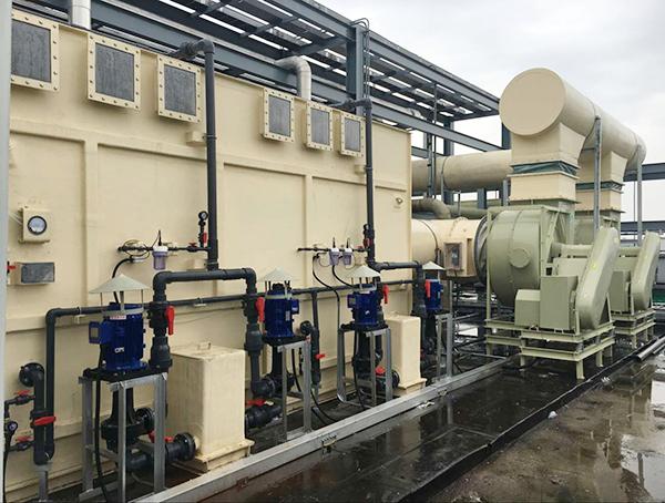 苏州某薄膜晶体管液晶显示器件(TFT-LCD)废水厂项目