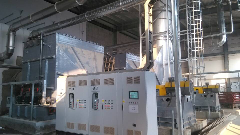 南京某8.5代面板厂STR废气处理设备
