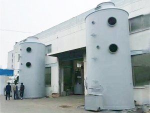 氯气中和洗涤塔