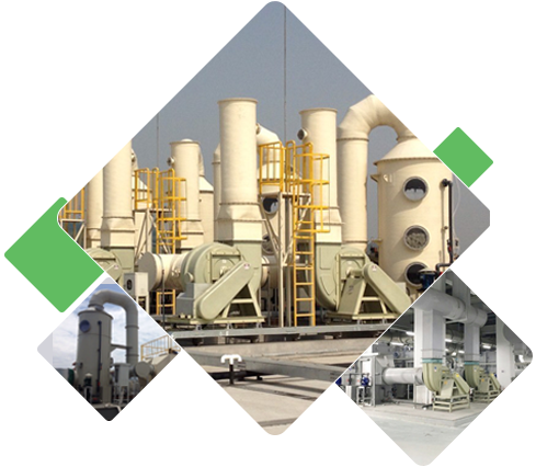 Waste gas treatment equipment manufacturers